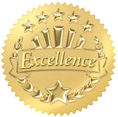 Gold Excellence Icon
